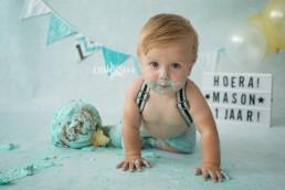 Cake Smash fotoshoot regio Breda Roosendaal