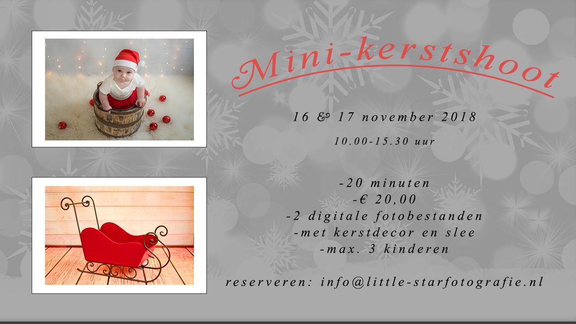 kerst fotoshoot Roosendaal