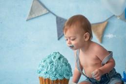 Cake Smash fotoshoot fotograaf Roosendaal Breda Oudenbosch