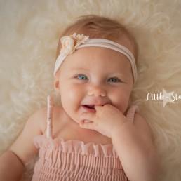 fotoshoot baby 6 mnd